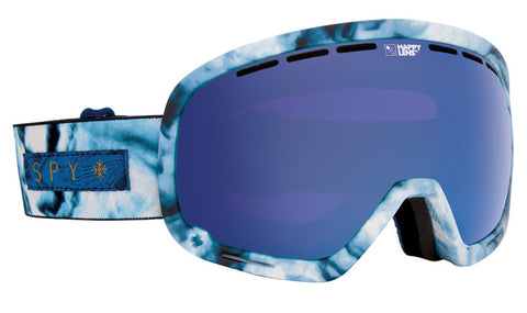 Spy Marshall Goggles Marbled Blue- Happy Rose w/ Dark Blue Spectre 2016 , Goggles - Spy, Concrete Wave