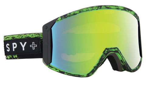Spy Raider Goggles Masked Green- Bronze w/ Green Spectre (+Yellow) 2016 ,  - Concrete Wave, Concrete Wave