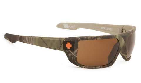 Spy McCoy Real Tree Camo/ Bronze Polarized Sunglasses Default Title / Real Tree Camo, Sunglasses - Spy, Concrete Wave - 1