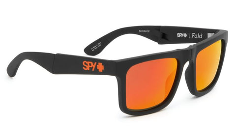 Spy The Fold Matte Black/ Bronze With Red Spectra- John John Florence Default Title / Matte Black, Sunglasses - Spy, Concrete Wave - 1