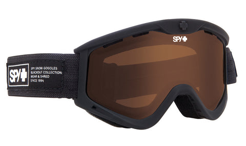 Spy Targa 3 Nocturnal- Bronze Goggles One Size, Goggles - Spy, Concrete Wave