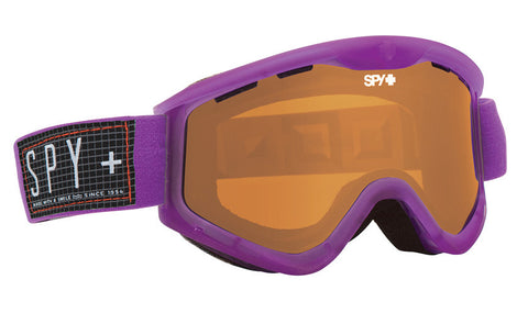 Spy Targa 3 Translucent Jazz- Persimmon Goggles One Size, Goggles - Spy, Concrete Wave