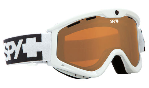 Spy Targa 3 White- Persimmon Goggles One Size, Goggles - Spy, Concrete Wave