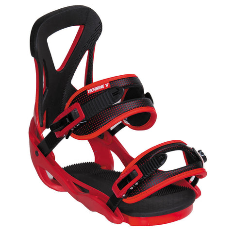 Technine The Classic Red Snowboard Bindings 2015 , Snowboard Bindings - Technine, Concrete Wave