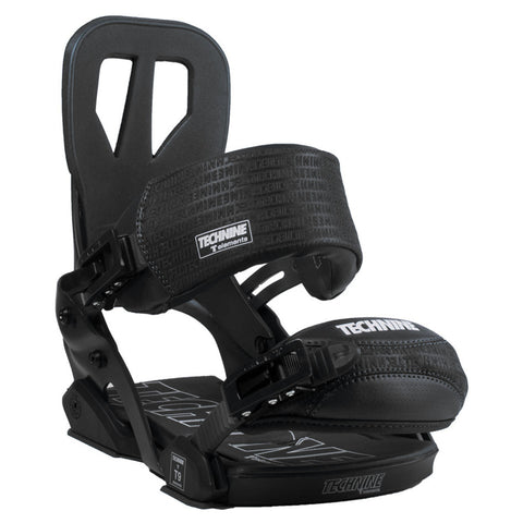 Technine Elements Pro Black Snowboard Bindings 2015 , Snowboard Bindings - Technine, Concrete Wave