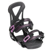 Technine Women's T9 Black Snowboard Bindings 2015 , Snowboard Bindings - Technine, Concrete Wave