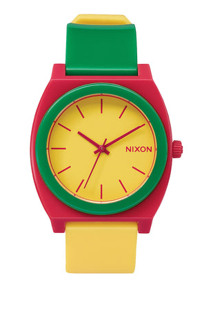 Nixon Time Teller P Rasta , Watches - Nixon, Concrete Wave