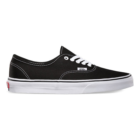 Vans Authentic Black/ Black , Sneakers - Vans, Concrete Wave