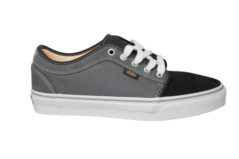 2fc4eb56ba Vans Chukka Low Black  Charcoal  Orange Skateboard Sneakers