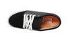 Vans Chukka Low Black/ Charcoal/ Orange Skateboard Sneakers , Sneakers - Vans, Concrete Wave - 4