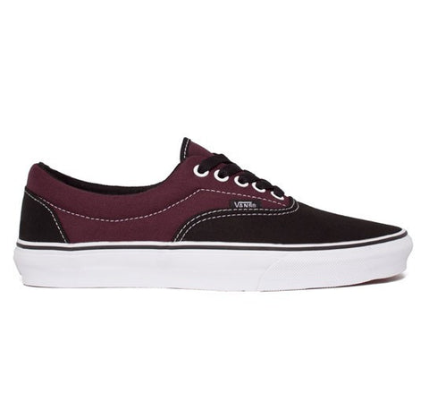 Vans Era 2 Tone Black/Winetasting , Sneakers - Vans, Concrete Wave