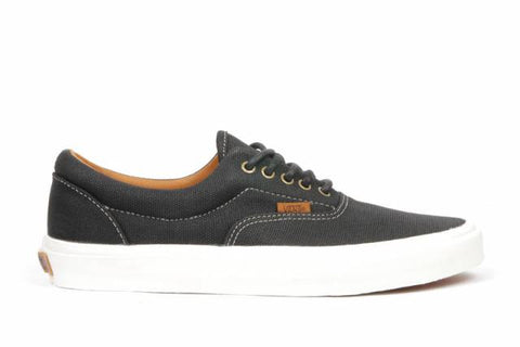 Vans Era Coated Canvas Black , Sneakers - Vans, Concrete Wave