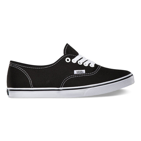 Vans Authentic Lo Pro Black/ True White Sneakers , Sneakers - Vans, Concrete Wave - 1