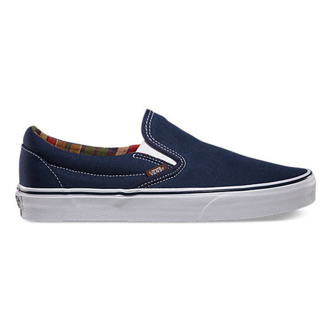 Vans Slip-on Classic C&L Dress Blues/Potting Soil , Sneakers - Vans, Concrete Wave