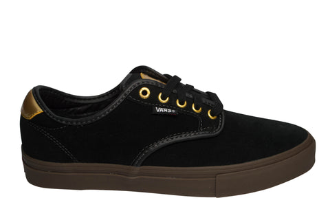 Vans Chima Ferguson Pro Black/ Gum/ Gold , Sneakers - Vans, Concrete Wave - 1