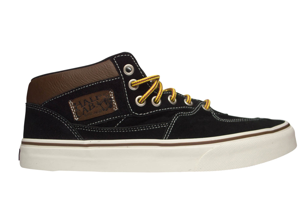c28a096cfa0581 Vans Men s Half Cab Hiker Suede Black Sneakers