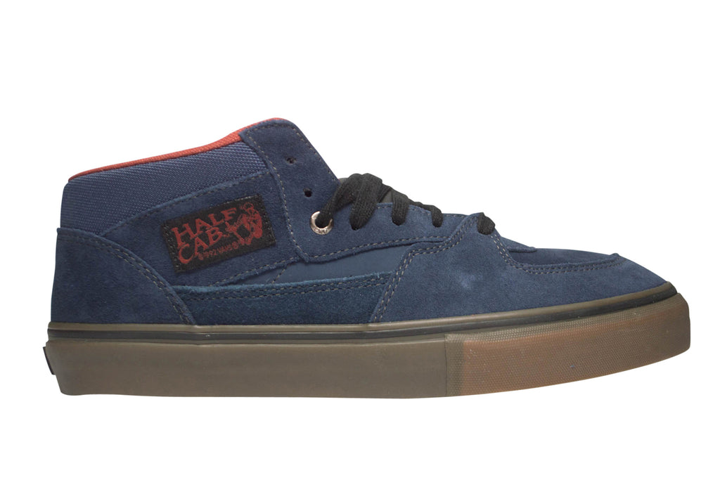 e61e61604e2e36 Vans Men s Half Cab Pro Midnight Gum Skate Shoes