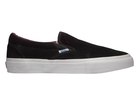 Vans Slip-on Pro Black/Deep Mahogany , Sneakers - Vans, Concrete Wave - 1