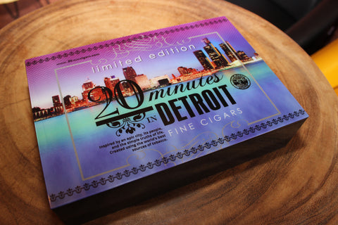 '20 minutes' in Detroit Limited Edition Cigar Box