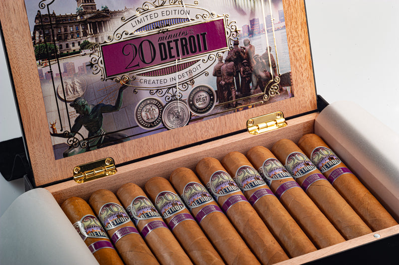 '20 minutes' in Detroit Limited Edition CT Box: 20 cigars