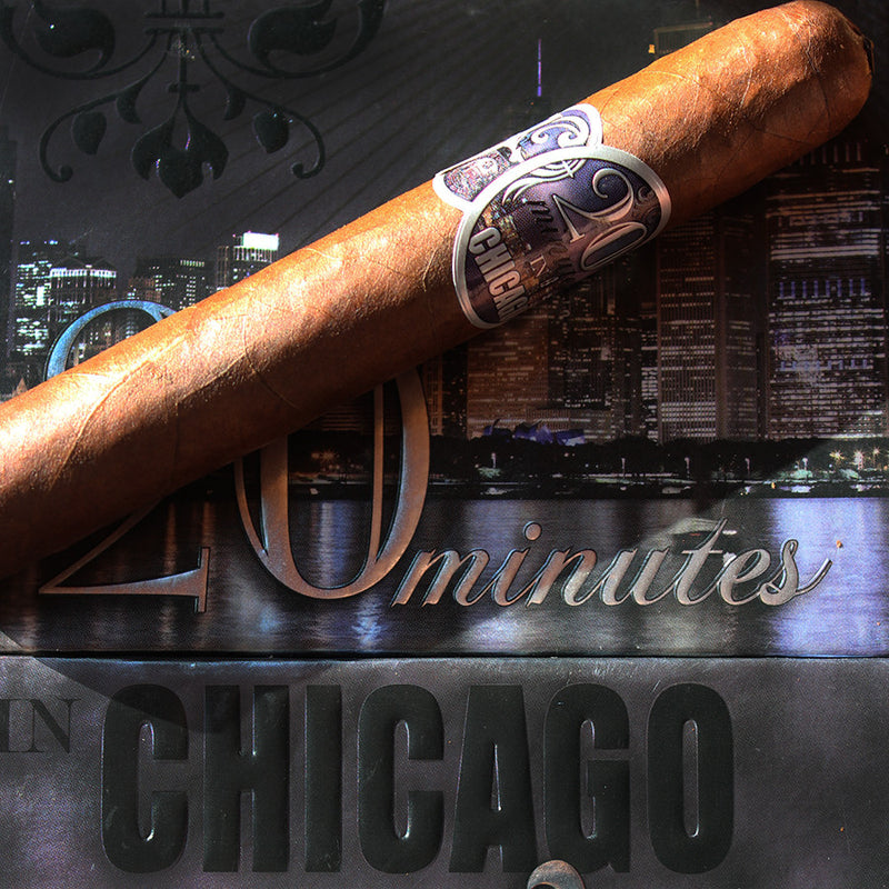 20 minutes in Chicago: MAGNIFICENT MILE 6 x 55 (BOX OF 20)