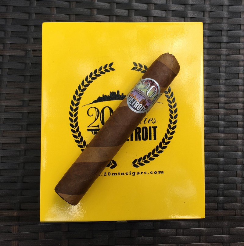Detroit 20: Riverwalk 6 x 60 (20 cigars)