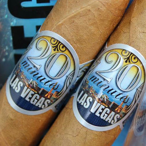 20 Minutes in Las Vegas - 69% Fresh Pack (6 CIGARS)