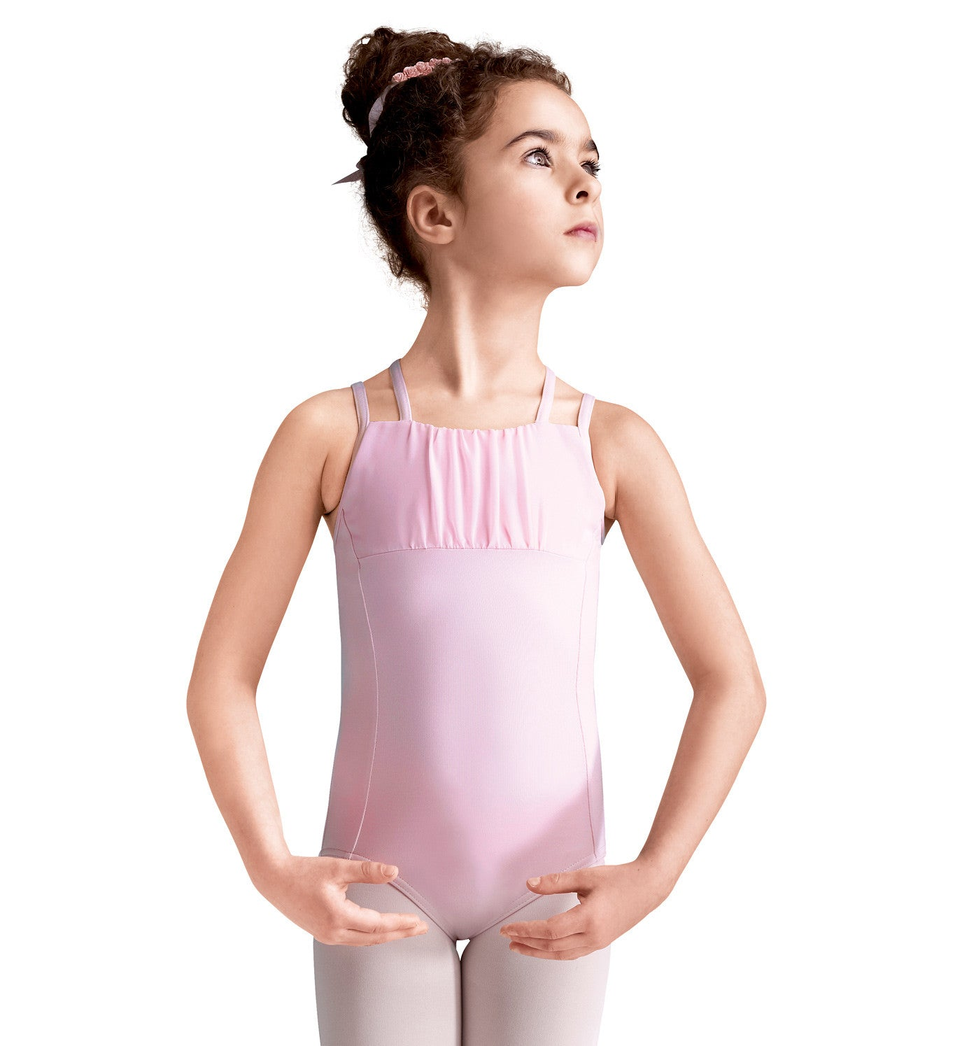 Double Strap Camisole Leotard for Girls