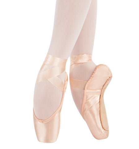 Capezio Adult Tiffany Pointe Shoes Medium Shank for Women