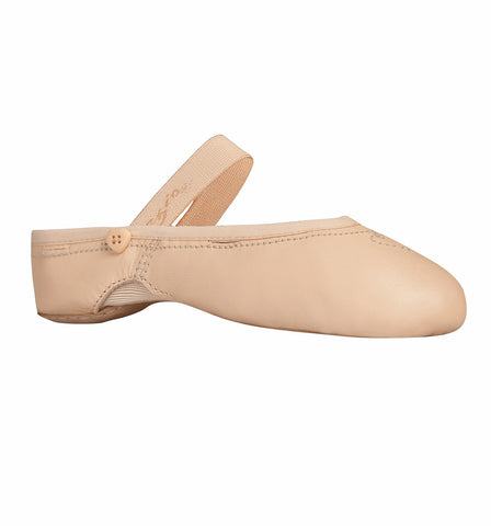 "Capezio ""Love Ballet"" Leather Ballet Slippers for Girls"