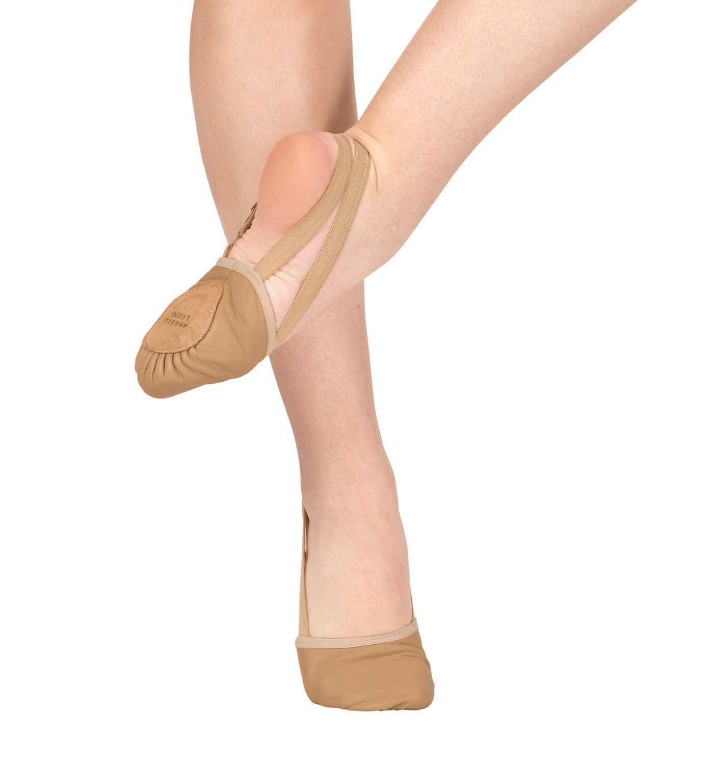 Adult Leather Closed-Toe Lyrical Shoes for Women