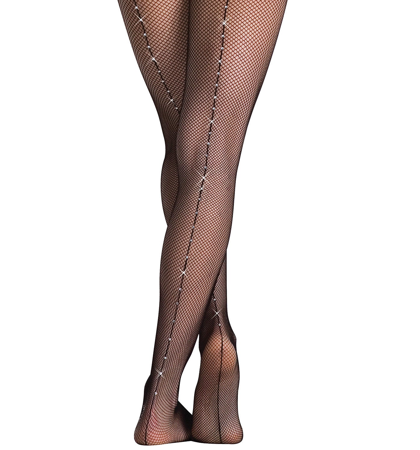 Body Wrappers Adult Rhinestone Tights for Women