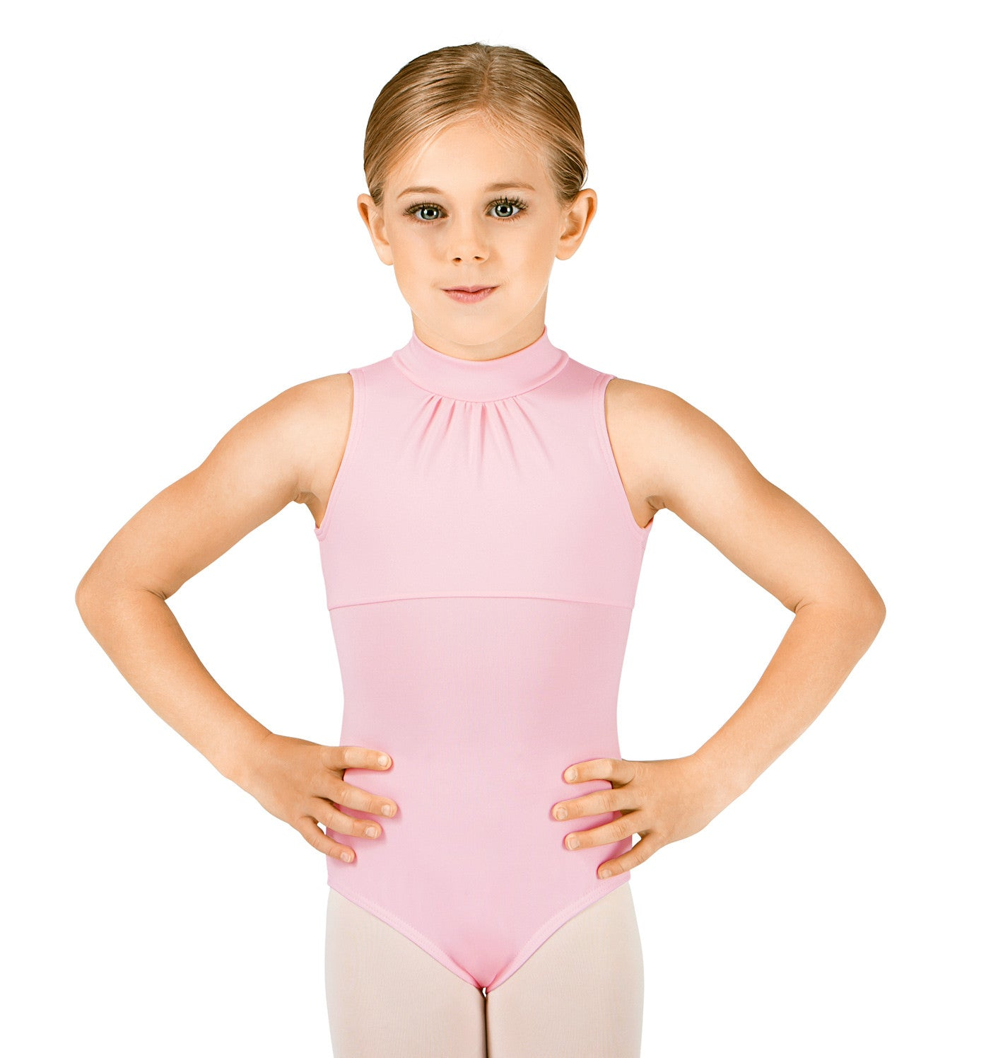 Body Wrappers High Neck Tank Leotard for Girls