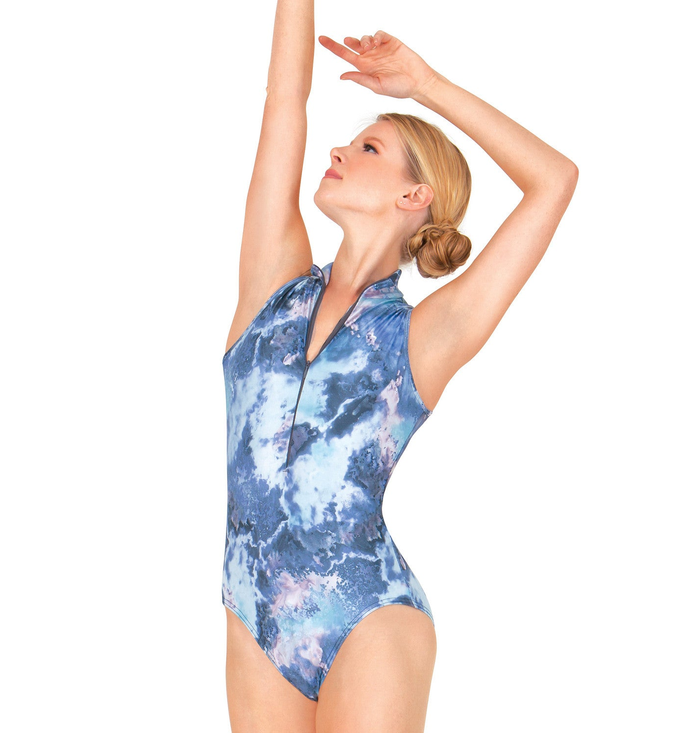BalTogs Adult Printed Mesh Tank Leotard for Women