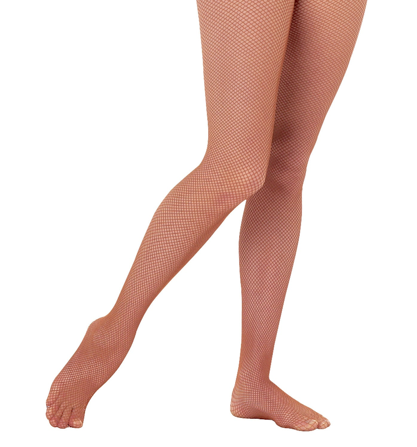 Body Wrappers Fishnet Seamless Tights for Girls
