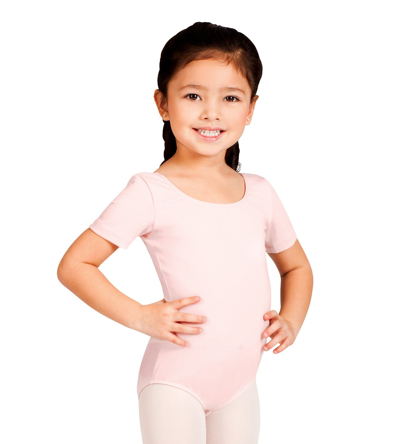 Short Sleeve Leotard for Girls