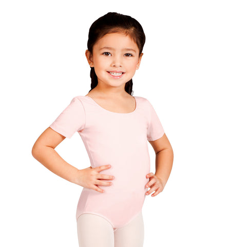 Bloch Short Sleeve Leotard for Girls