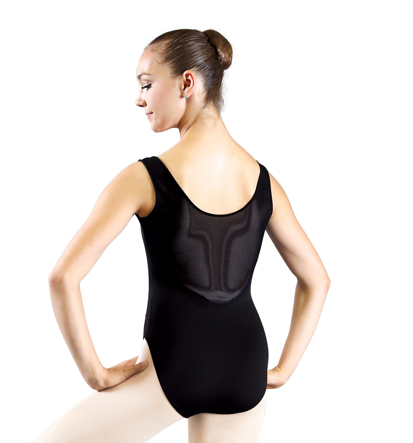 1737 Adult Bolshoi Stars Collection Mesh Insert Tank Leotard for Women