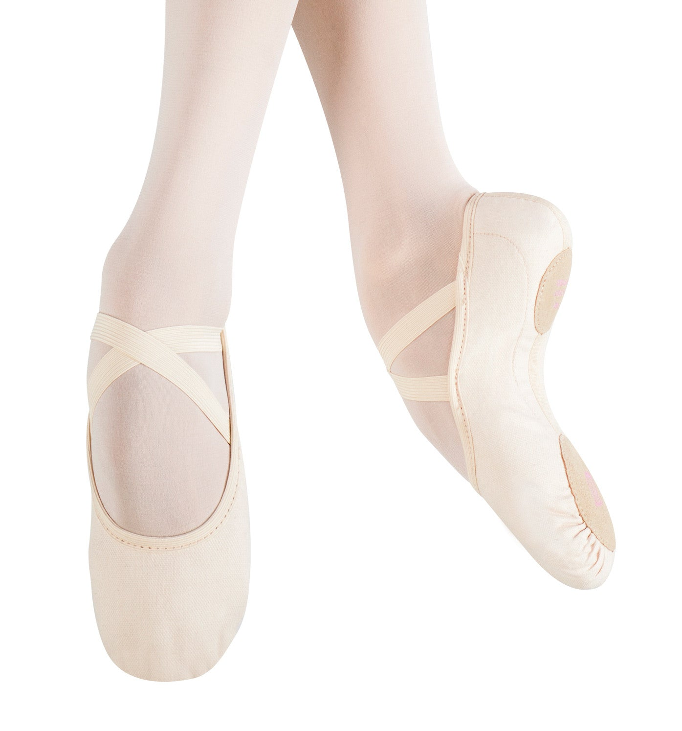 "MDM Adult ""Intrinsic"" Canvas Split-Sole Ballet Slippers for Women"