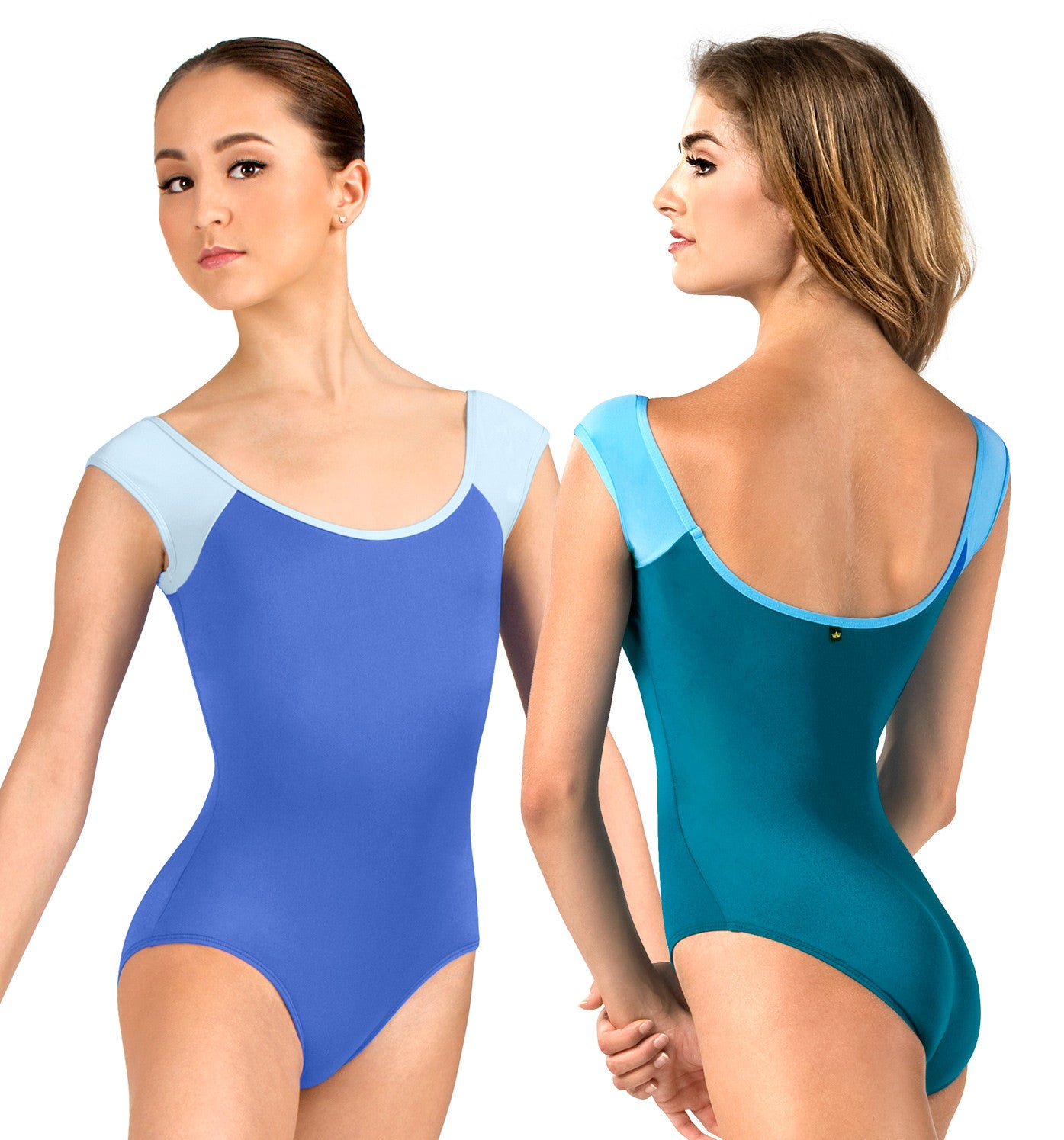 "Mariia Adult ""Tatiana"" Cap Sleeve Leotard for Women"