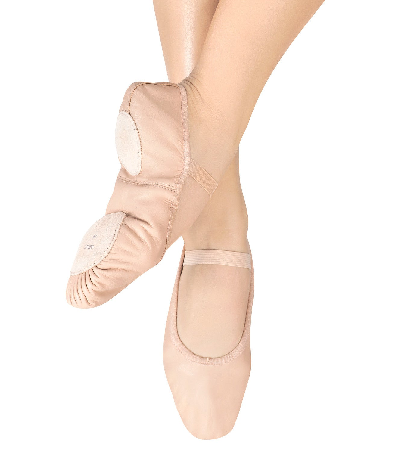 "Bloch Adult ""Dansoft"" Leather Split-Sole Ballet Slippers for Women"