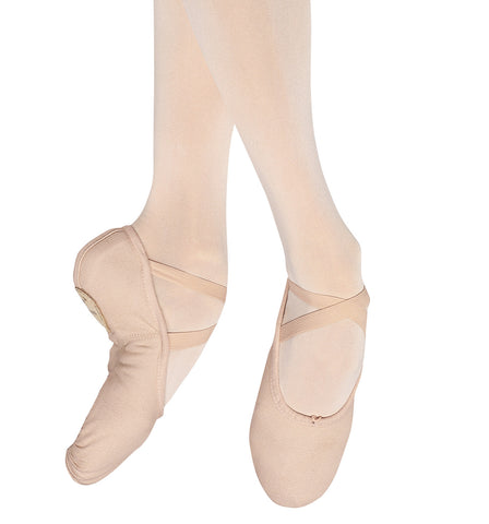 "Bloch Adult ""Pump"" Canvas Split-Sole Ballet Slippers for Women"