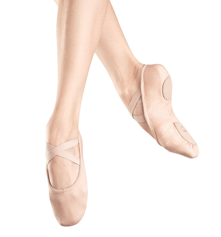 "Bloch Adult ""Zenith"" Stretch Canvas Split-Sole Ballet Slippers for Women"