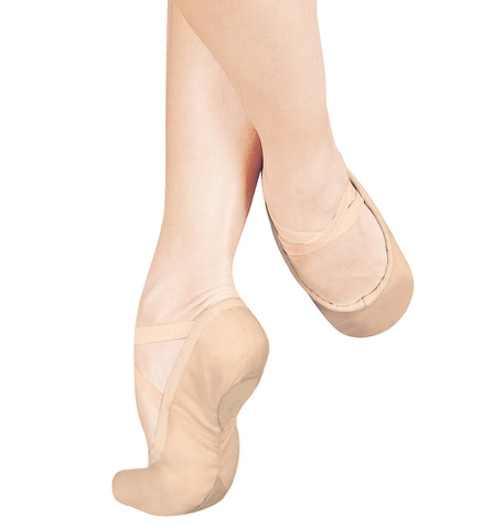 "Sansha Adult Unisex ""#1Pro"" Leather Split-Sole Ballet Slippers for Women"