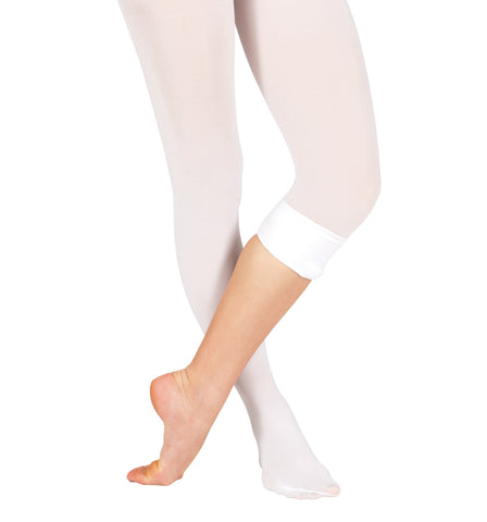 Theatricals Adult Convertible Tights with Smooth Self-Knit Waistband for Women
