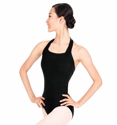 Theatricals Adult Halter Cotton Leotard for Women