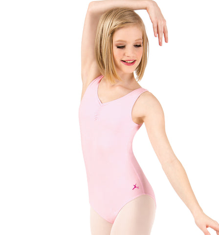Capezio Future Star Shirred Tank Leotard for Girls
