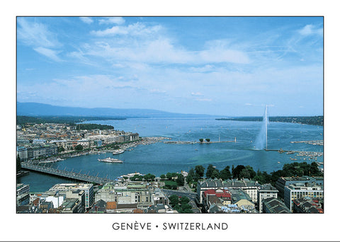 10036 - Geneva - View from St. Peter's Cathedral, Switzerland