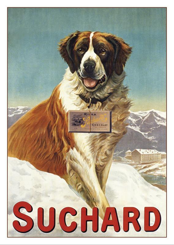 A-10514 - CHOCOLAT SUCHARD - Poster by Noël Husson about 1900