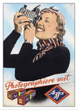 AGFA Poster by Albert Ruegg - 1937